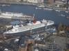 Luftbild Hamburger Hafen