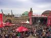 Hamburger Welt Astra Tag am Alten Elbtunnel auf St. Pauli am 30.