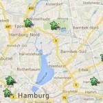Public viewing in Hamburg zur WM 2014
